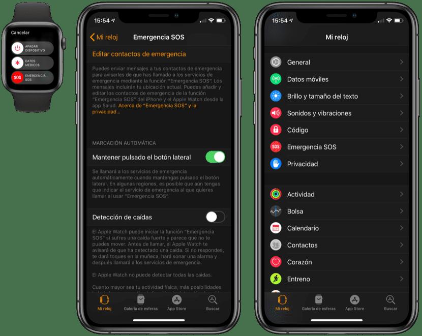 Emergencias Apple Watch