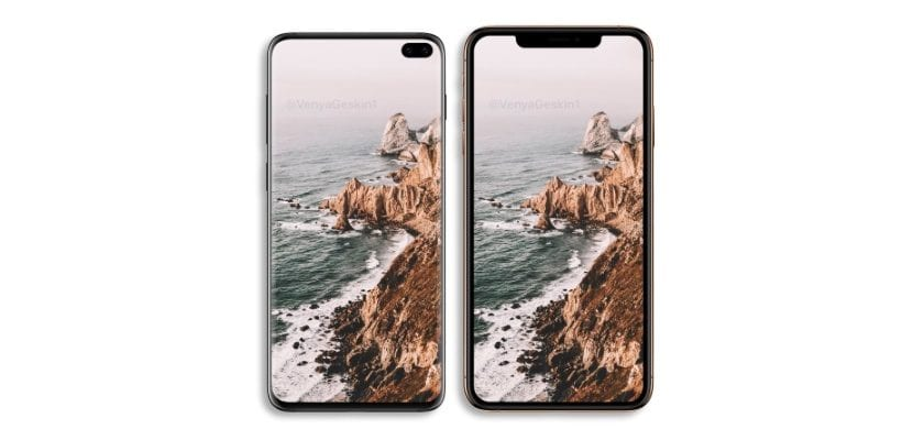 Galaxy S10 vs <strong>iPhone℗</strong> XS&#187; width=&#187;830&#8243; height=&#187;400&#8243; srcset=&#187;https://www.actualidadiphone.com/wp-content/uploads/2019/03/Galaxy-s10-iPhone-XS.jpg 830w, https://www.actualidadiphone.com/wp-content/uploads/2019/03/Galaxy-s10-iPhone-XS-300&#215;145.jpg 300w, https://www.actualidadiphone.com/wp-content/uploads/2019/03/Galaxy-s10-iPhone-XS-320&#215;154.jpg 320w, https://www.actualidadiphone.com/wp-content/uploads/2019/03/Galaxy-s10-iPhone-XS-400&#215;193.jpg 400w, https://www.actualidadiphone.com/wp-content/uploads/2019/03/Galaxy-s10-iPhone-XS-500&#215;241.jpg 500w&#187; sizes=&#187;(max-width: 830px) 100vw, 830px&#187;></p> <p>En marzo de 2019, <strong>la cuota de <strong>Android℗</strong> en Europa representa el 79,3%</strong>, entretanto que la cuota de mercado de <strong>Apple℗</strong> se sit&uacute;a en el 20,1%. Sin embargo en Estados Unidos la cuota de <strong>Apple℗</strong> sube hasta el 45,5%, 6,5% m&aacute;s que en el mismo per&iacute;odo del a&ntilde;o anterior.</p><div class=