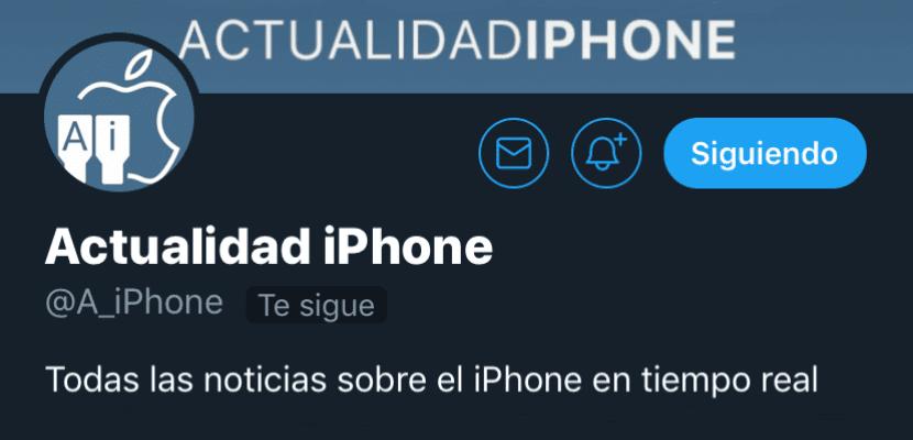 Modo oscuro Twitter