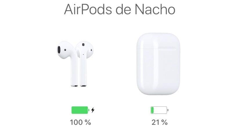 Resetear los AirPods