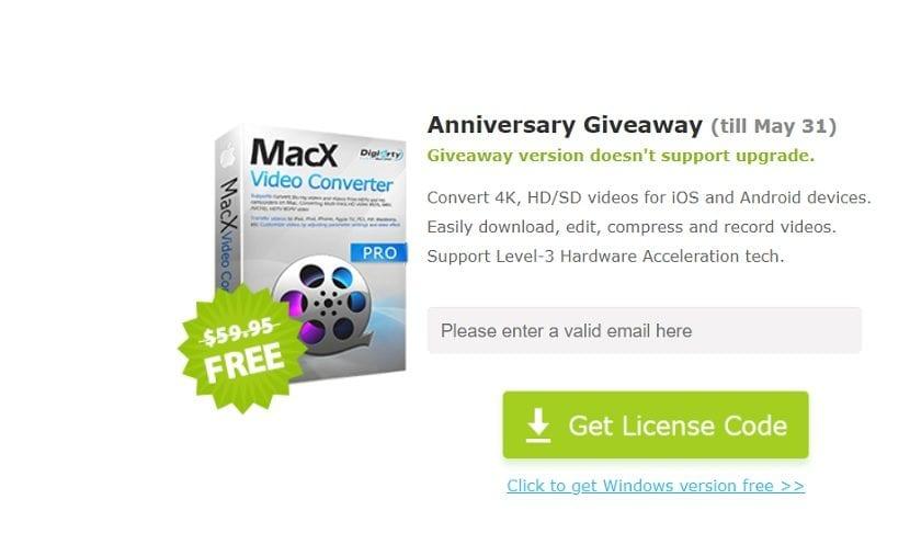 MacX Video Converter Pro gratis