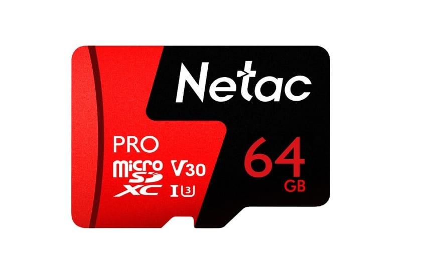 Docooler Netac 64GB Pro Micro SDXC