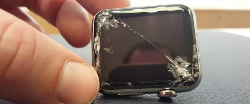 Apple Watch cristal roto