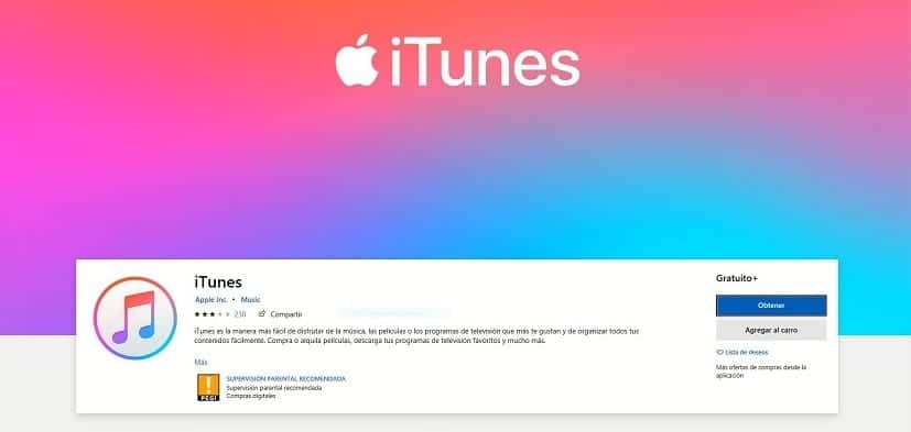 iTunes Windows
