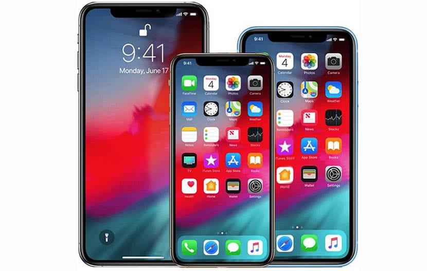 Los tres iphone XI