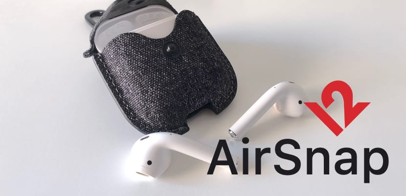 Funda AirSnap Twill de Twelve South para AirPods