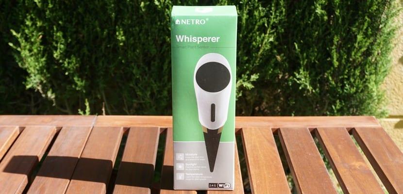 Netro Whisperer es un sensor de temperatura, humedad y luz solar que ayudará a tu estación de riego Netro Sprite a ser aún más eficiente.