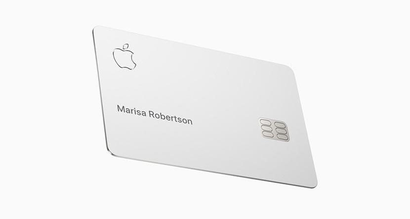 La nueva tarjeta de crédito Apple Card