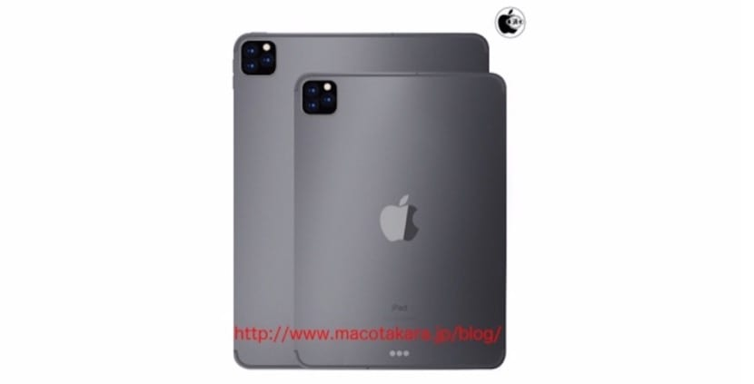 iPad Pro cámara trasera