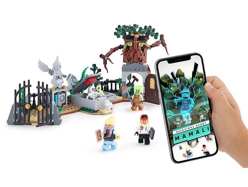 Set de LEGO con realidad aumentada