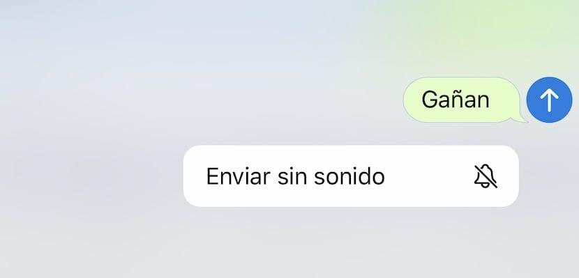 Mensajes silenciosos - Telegram