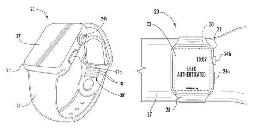 Patente correa Apple Watch