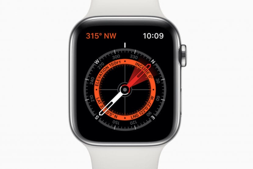 Apple Watch brujula