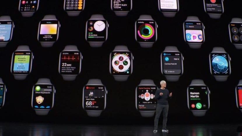 Apple Watch series 5 en Keynote 2019