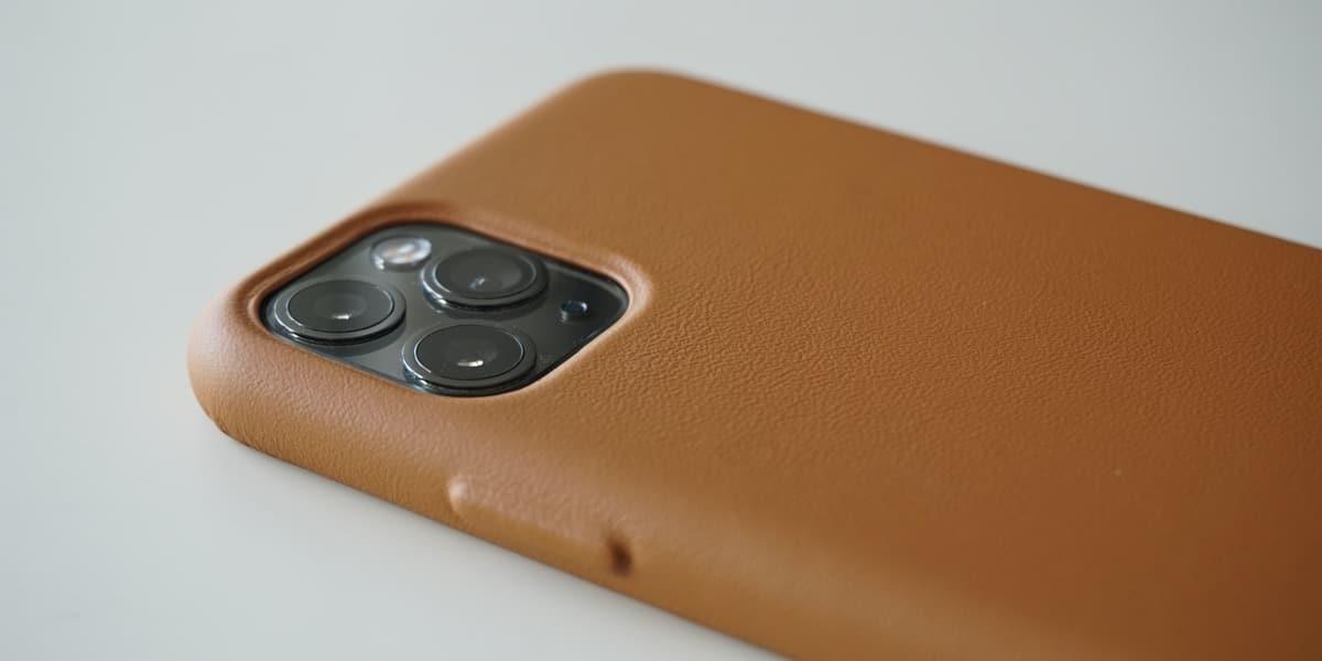funda iphone piel