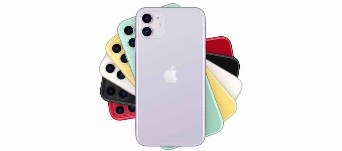 iPhone 11 trasera