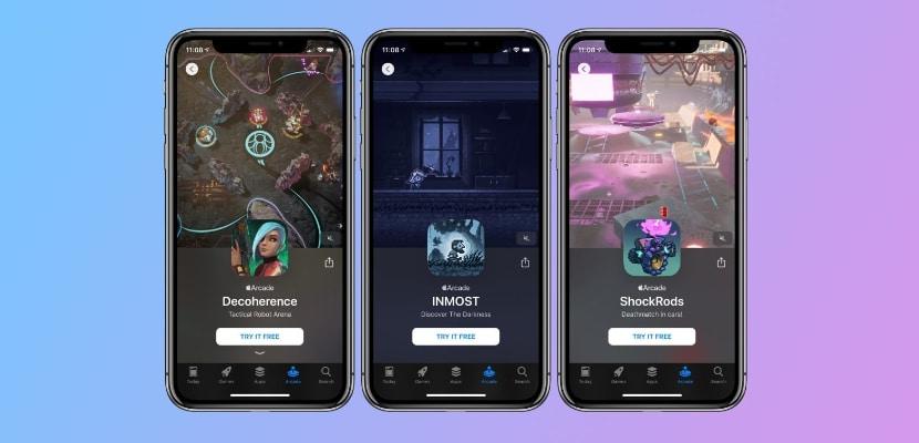 Nuevos juegos en Apple Arcade
