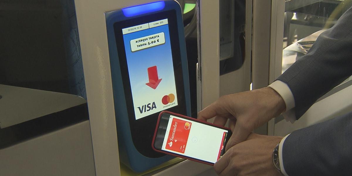 Apple Pay en el Bus