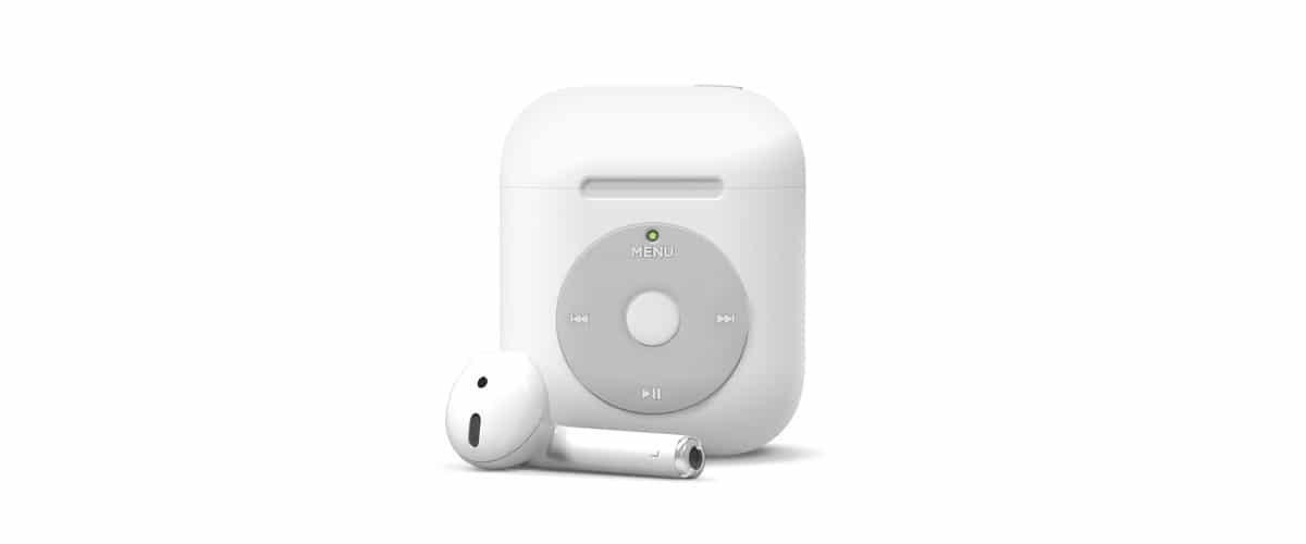 Elago lanza una nueva funda para los AirPods inspirada en el iPod