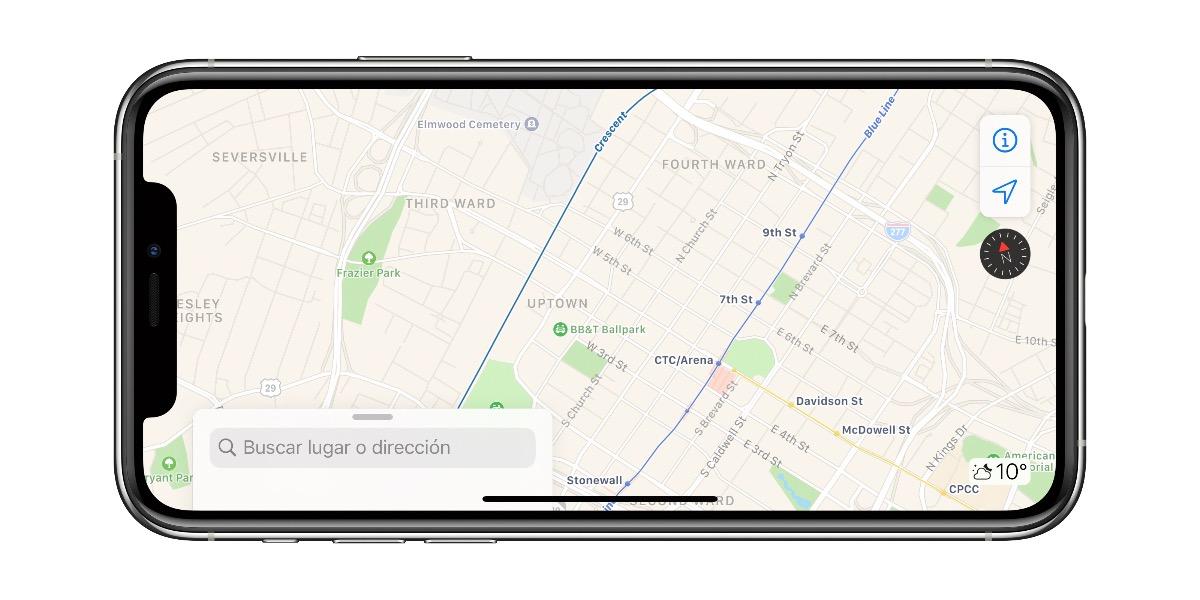 Apple expande las mejoras de Apple Maps al centro y sur-este de EEUU