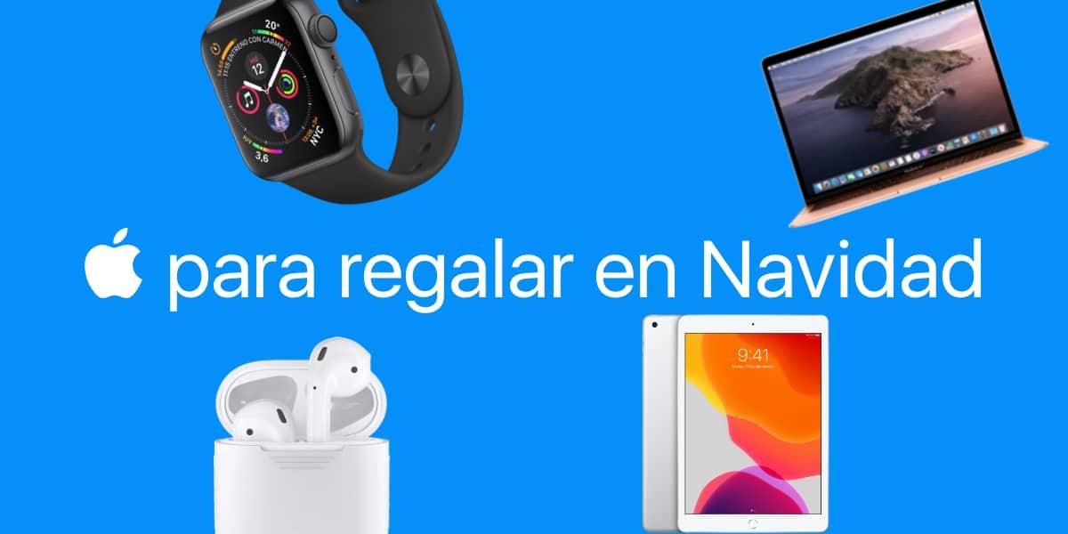 Los mejores productos de Apple para regalar esta Navidad