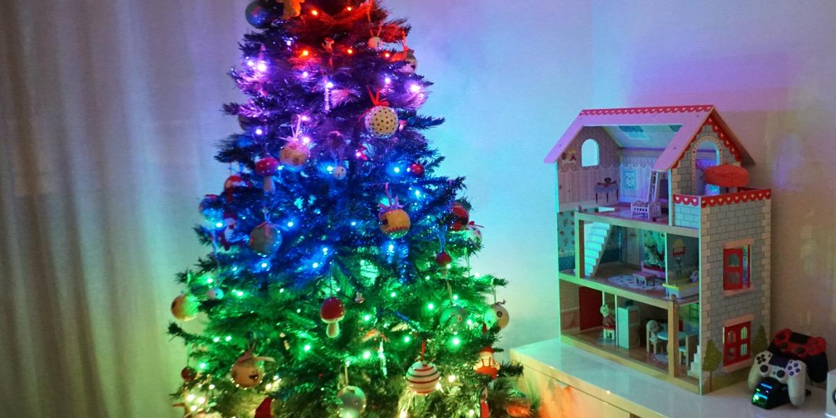 Twinkly, las luces inteligentes llegan a tu árbol de Navidad