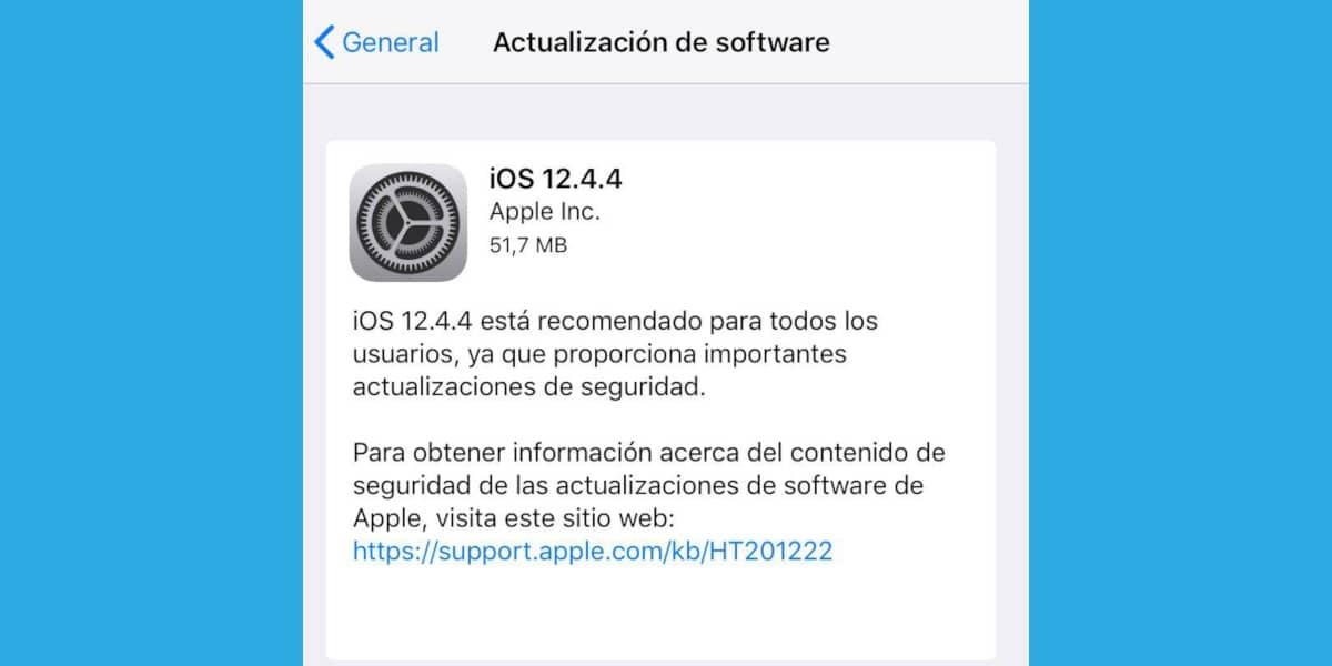 Apple no se olvida de los dispositivos que no se han actualizado a iOS 13