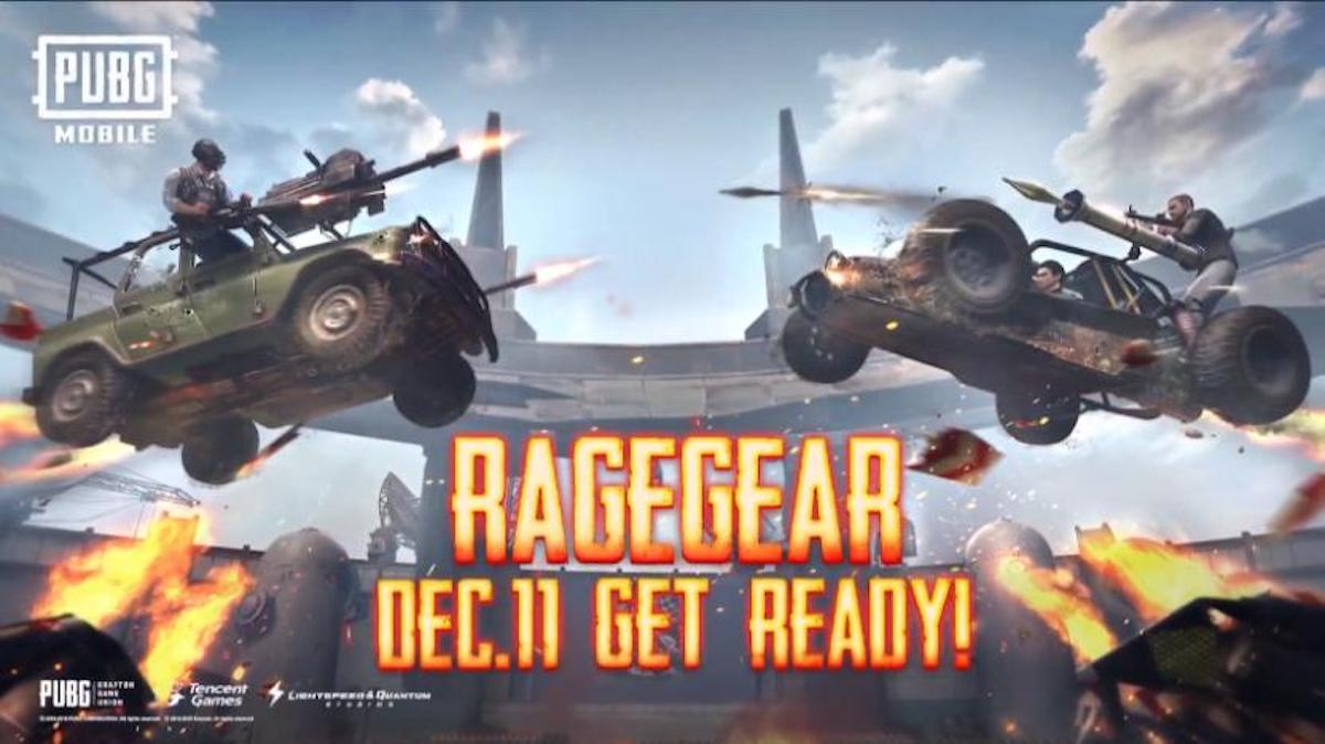 Rage Gear PUBG Mobile