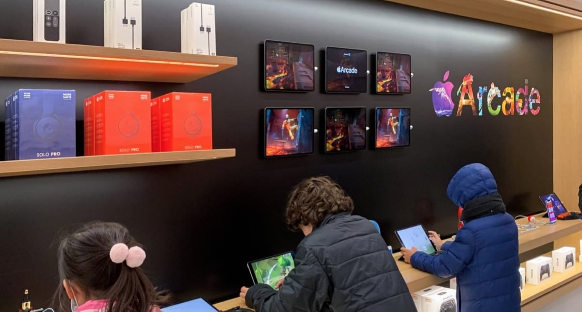 Apple Arcade aumenta su protagonismo en las Apple Store