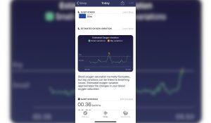 Fitbit, medidor de oxígeno en sangre