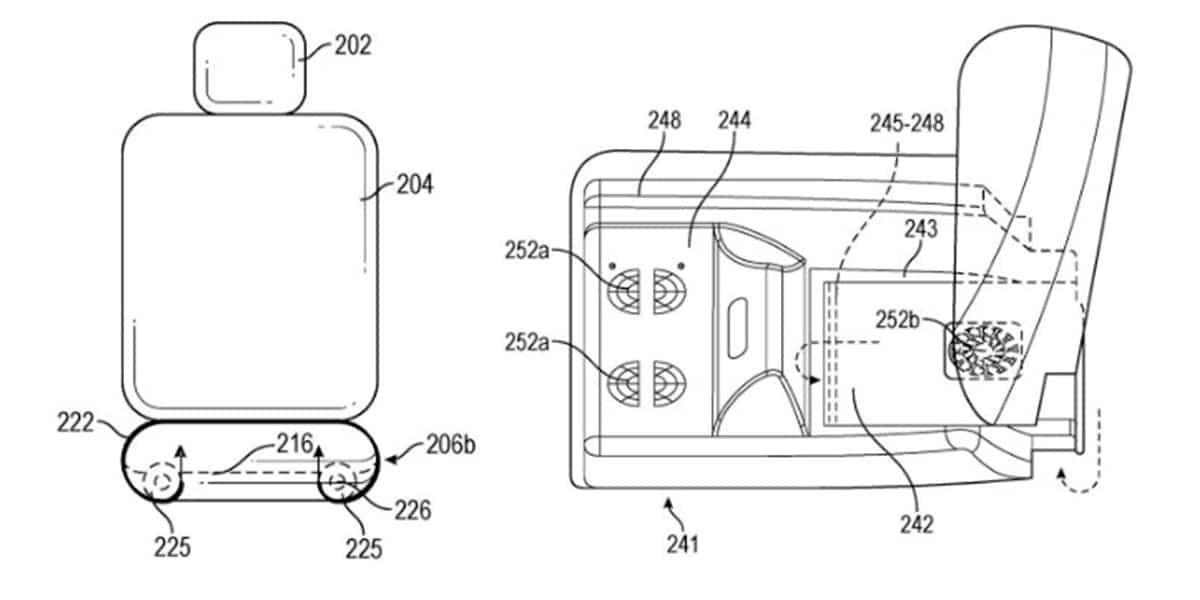 Apple y su extraña patente sobre asientos de coche