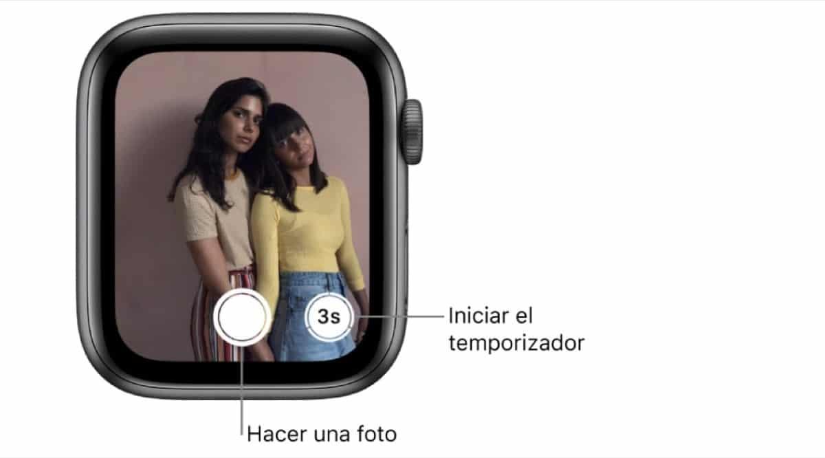 Cámara Apple Watch