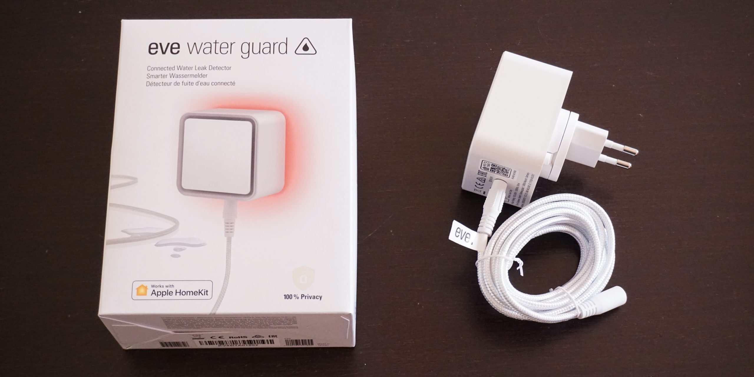 Eve Water Guard, detector de fugas de agua compatible con HomeKit