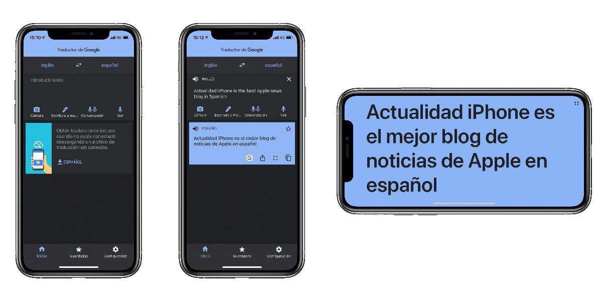 Google Translator Dark Mode
