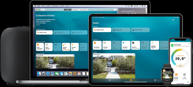 HomeKit app para controlar tu casa