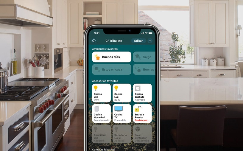 App HomeKit de Apple