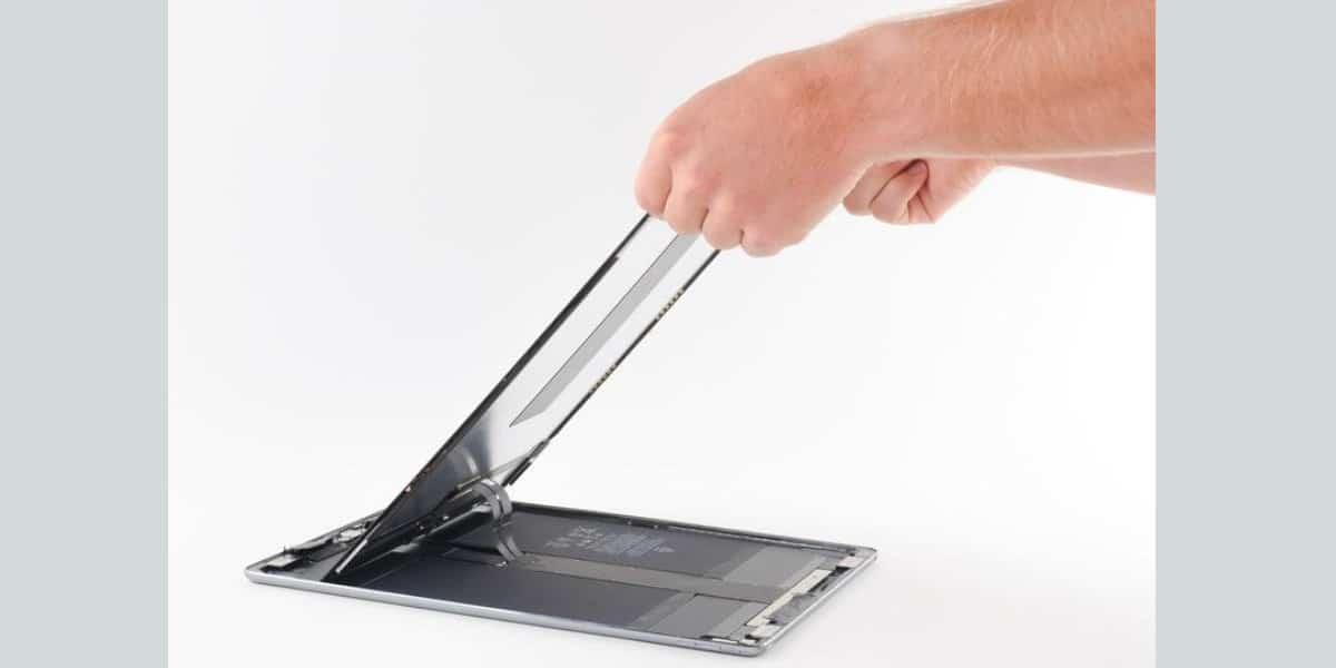 Cambio pantalla iPad