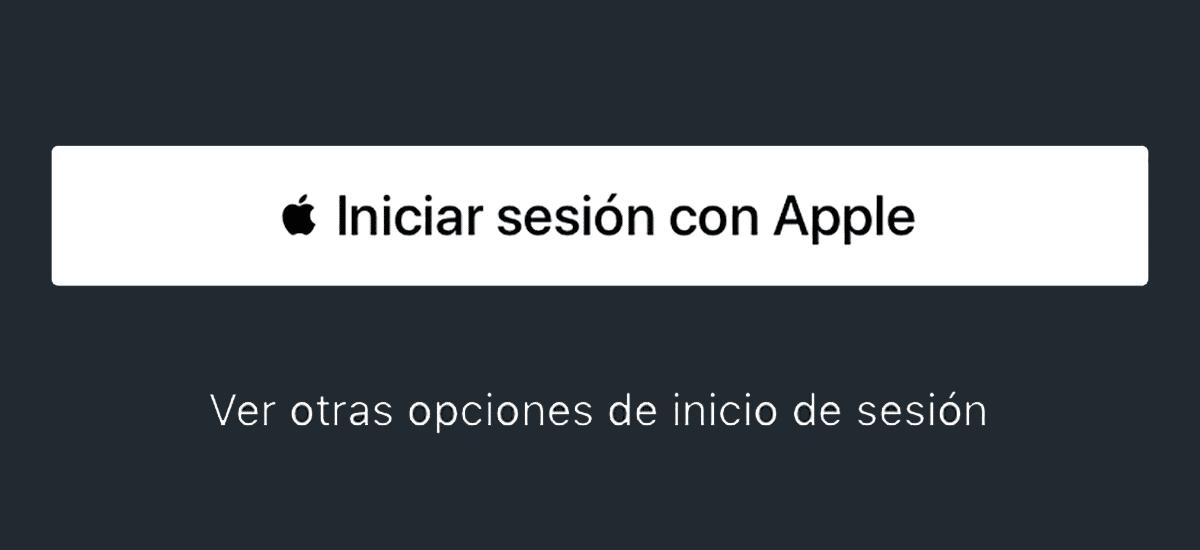 Iniciar sesión con Apple