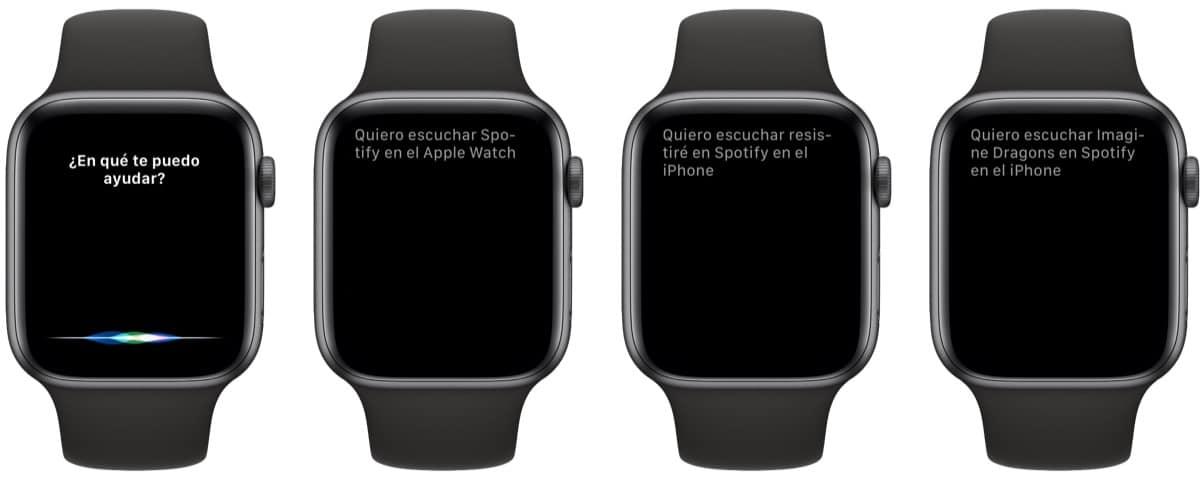 Ya puedes usar Siri para escuchar Spotify en el Apple Watch