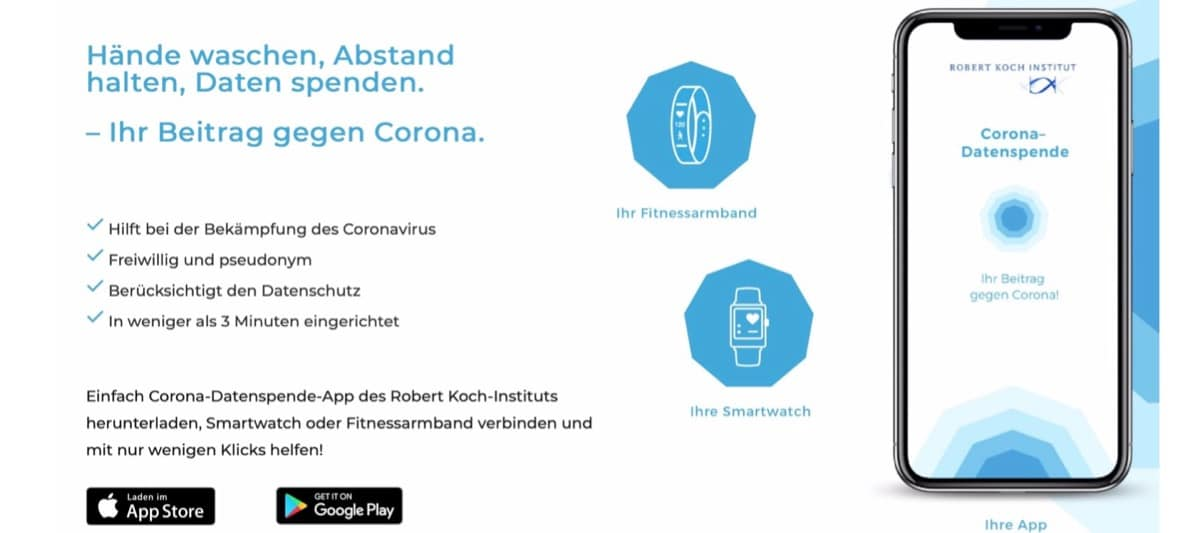 Corona Datenspende