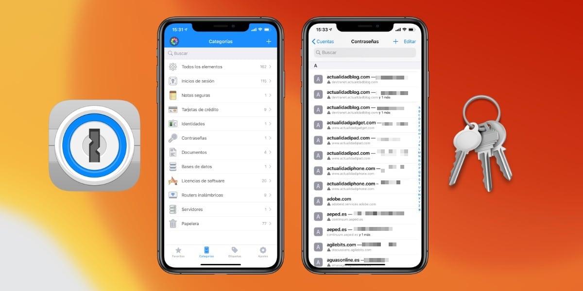 iOS 14 traerá a su Llavero funciones semejantes a 1Password
