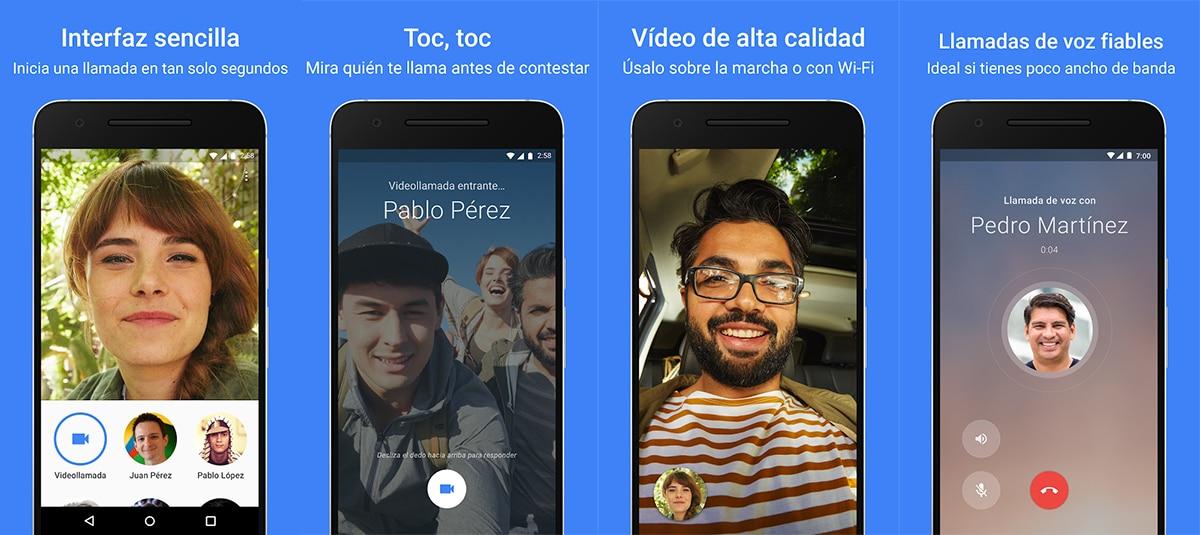 Google Duo Videollamadas