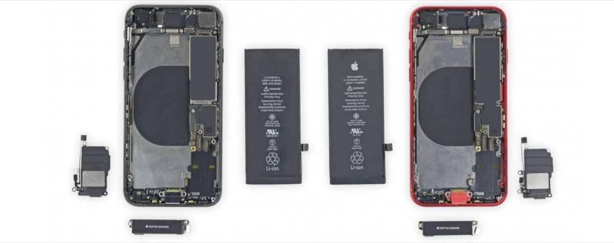 iPhone SE iFixit