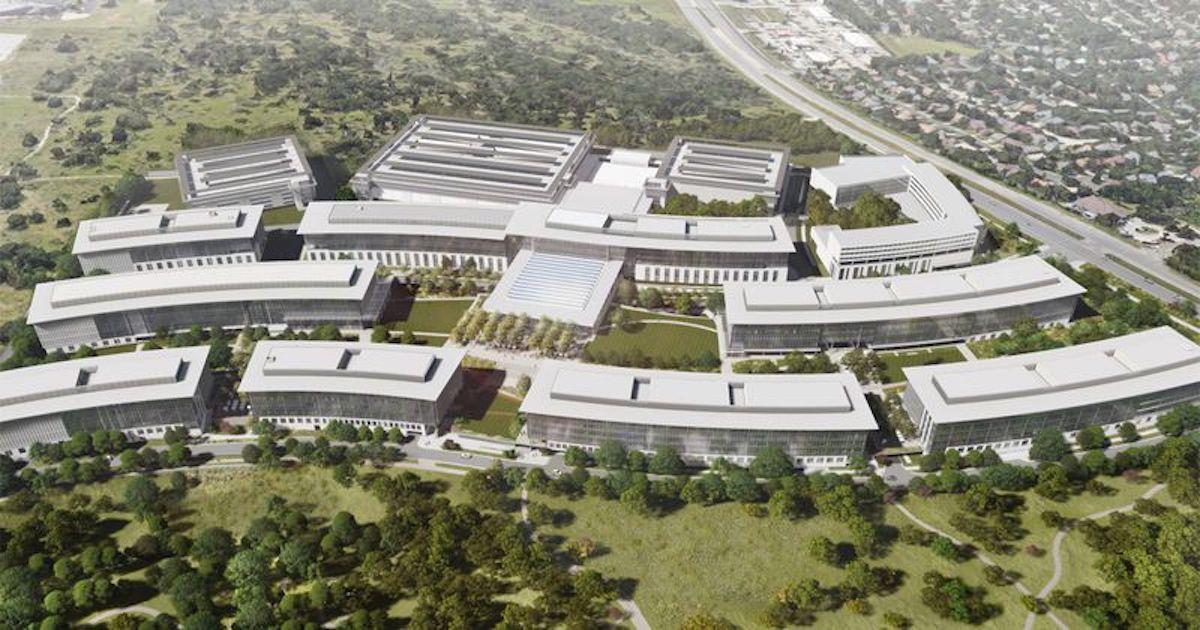 Campus de Apple en Austin, Texas