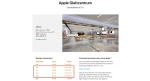 Apple Store Suiza
