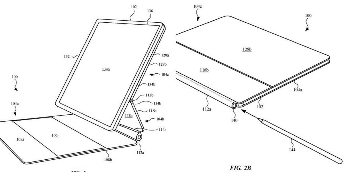 Magic Keyboard Patente