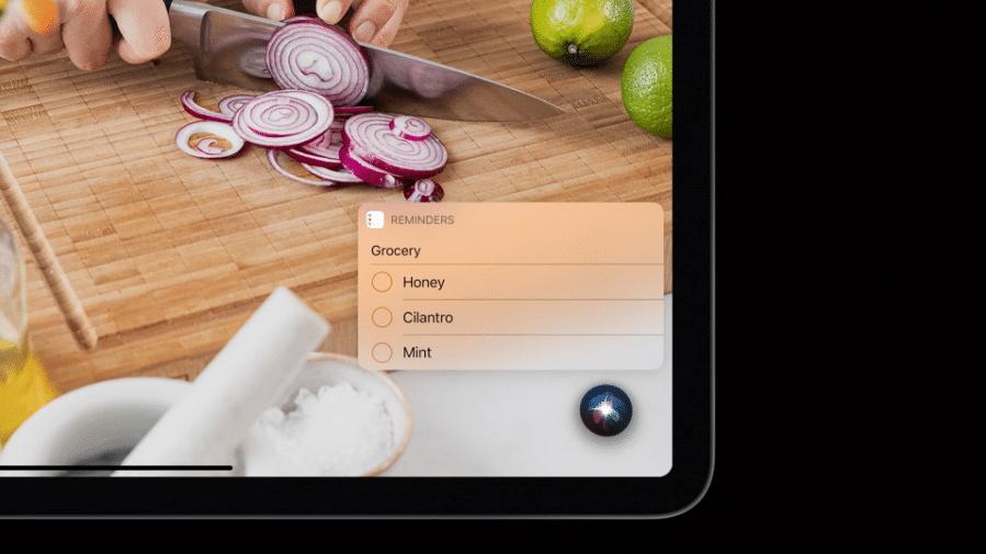 iPadOS 14 - Siri