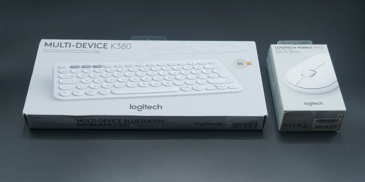 Logitech K380 y Pebble