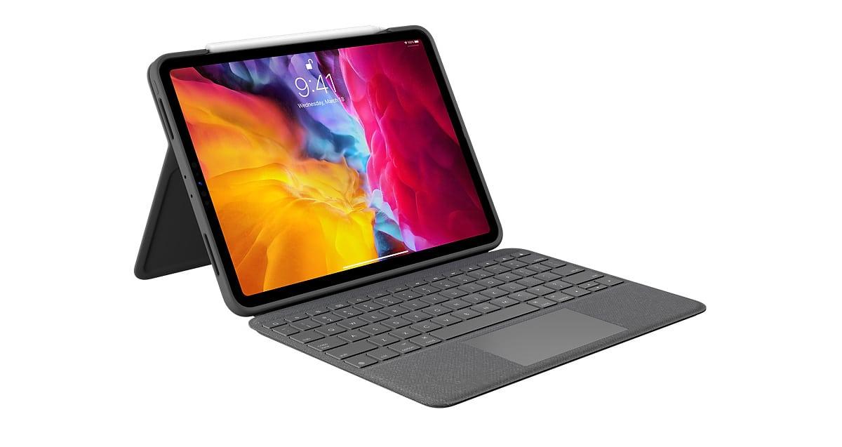 Ya disponible el Folio Touch de Logitech, un teclado con trackpad para el iPad Pro de 11 pulgadas