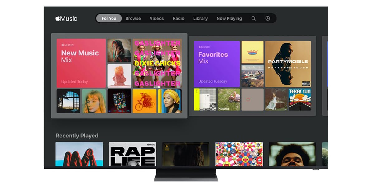 Apple Music Smart TV Samsung